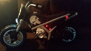 new custom made kids ride on 6v punisher motorcycle with L.E.D lights for Sale in Huntington Park, CA