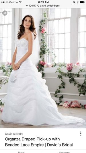 3cb2740a080 New and Used Wedding dress for Sale in Hudson