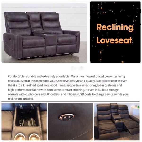 Wondrous Malia Reclining Loveseat For Sale In Glendale Az Offerup Ibusinesslaw Wood Chair Design Ideas Ibusinesslaworg
