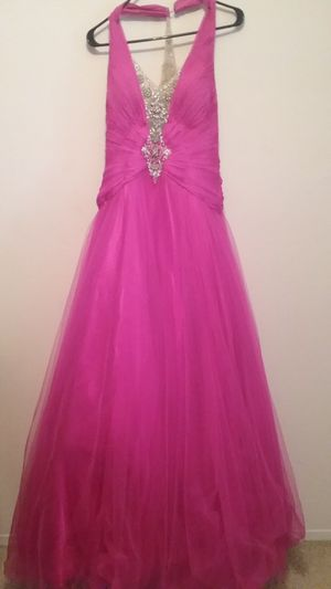 Pink prom dress by Terani Couture for Sale in Columbus, OH