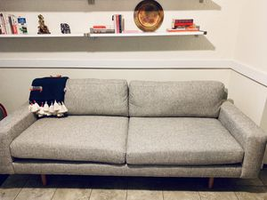 """West elm 82"""" Eddy couch/sofa - $675 for Sale in Boston, MA"""