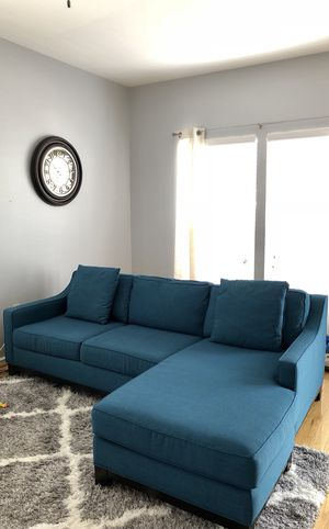 Fabric sectional sofa for Sale in Ashburn, VA