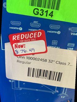 "ONN REGULAR TV (non smart TVs) 32"" prices vary  OIB Thumbnail"