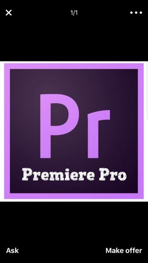 Adobe Premiere Pro for Sale in Los Angeles, CA