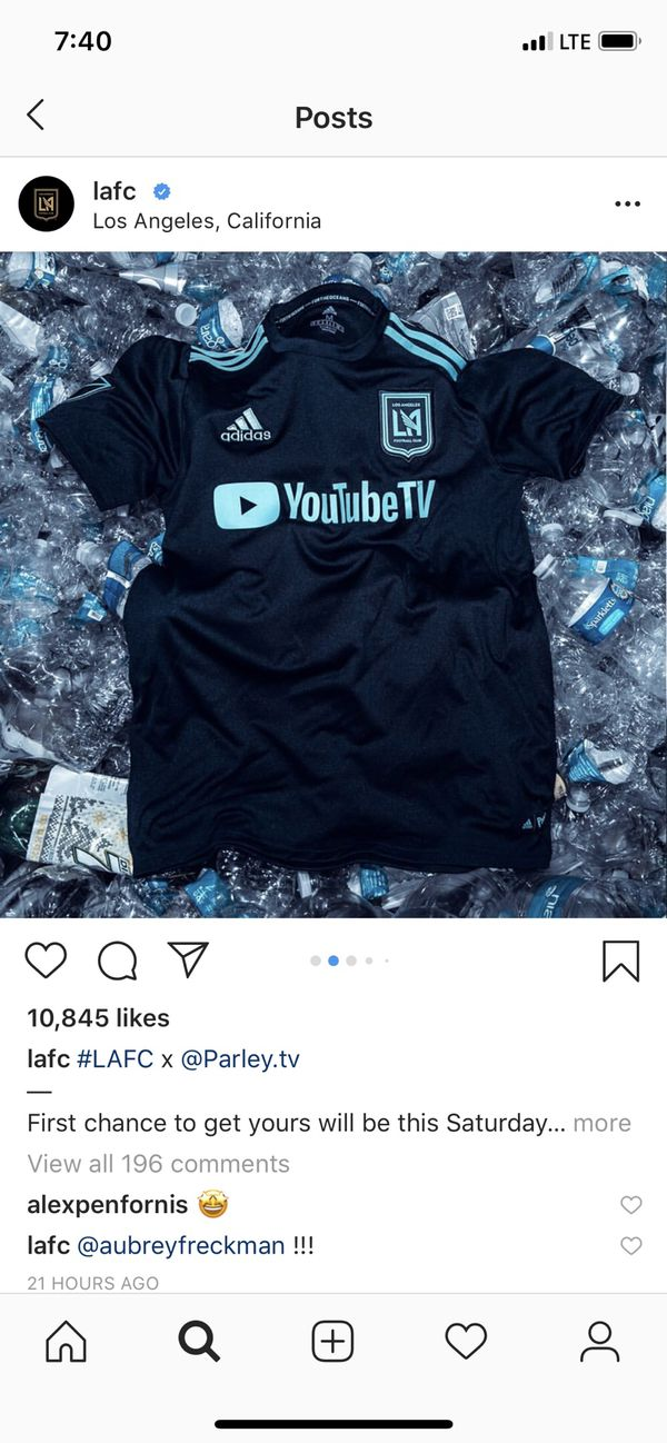watch b7e7f 001c9 Lafc parley jersey L for Sale in Los Angeles, CA - OfferUp