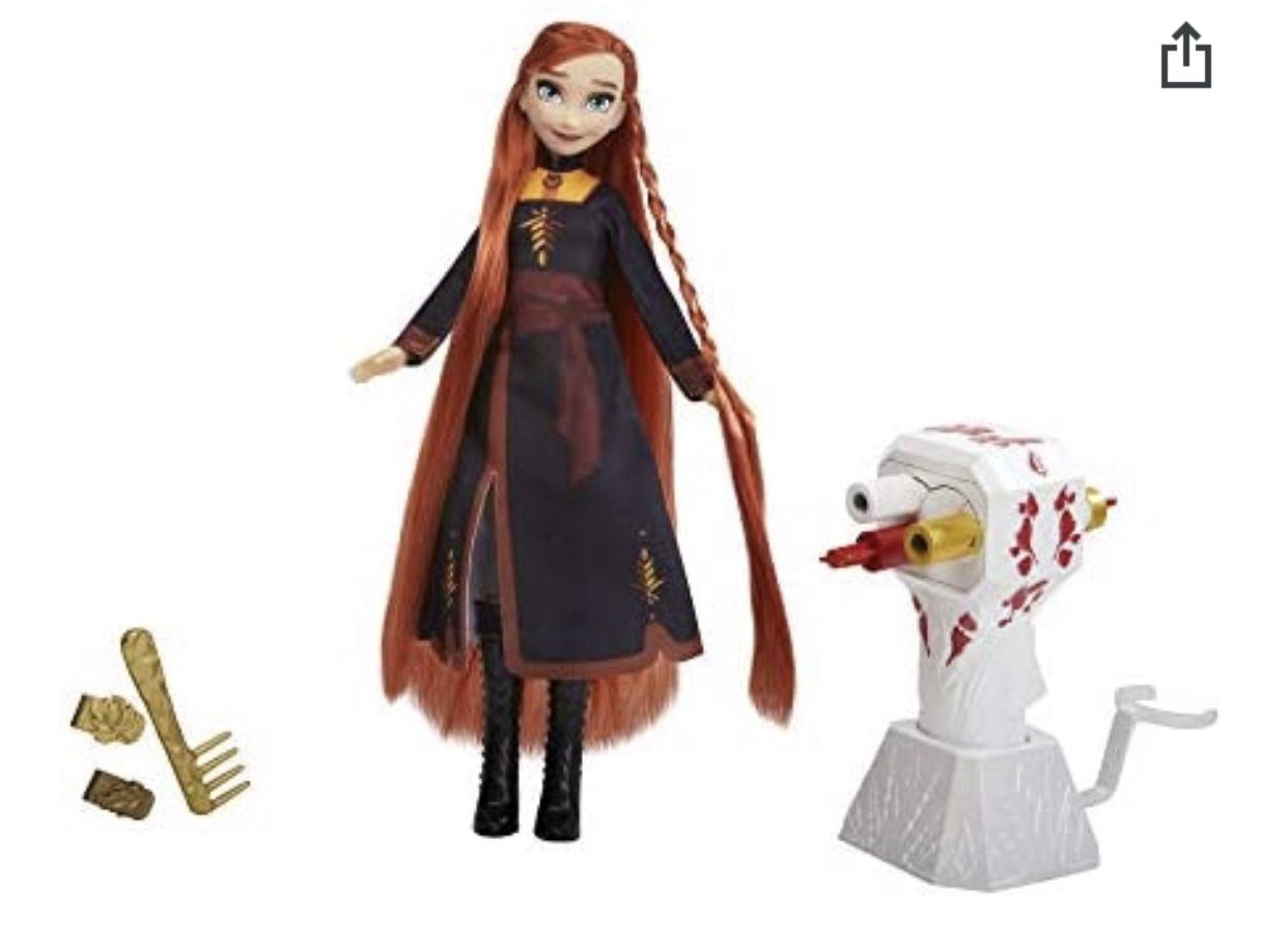 Disney Frozen 2 Sister Styles Anna Doll