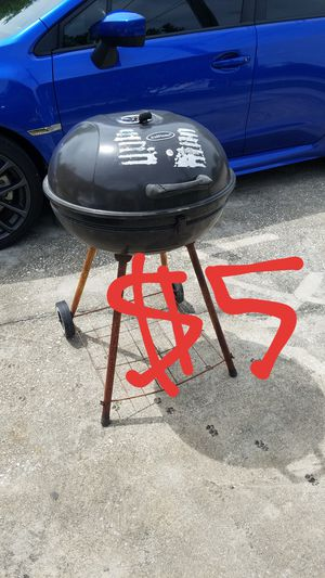 Photo $5 BBQ grill barbecue cooker cookout charcoal