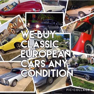 Wanted Classic European Muscle Cars Any Condition For Sale In