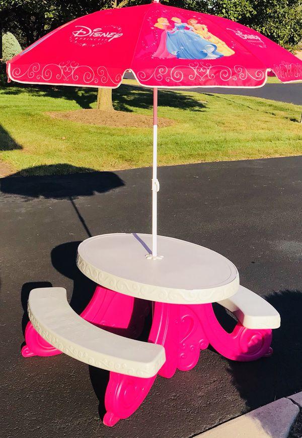 Disney Princess Patio Table Umbrella