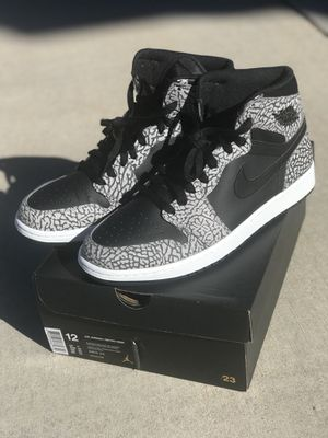 68bb3f9b90d8 Jordan 1 High Cement sz 12 Preowned for Sale in El Paso