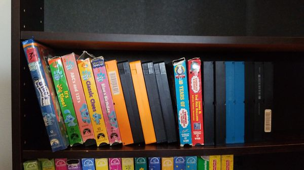 Lot Of Toddler Vhs Tapes Blues Clues And Thomas The Train For Sale
