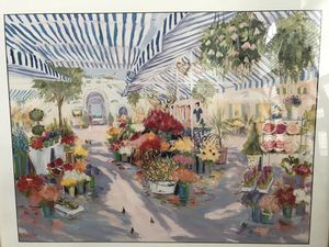 Flower Mart Painting for Sale in Gaithersburg, MD
