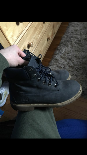 Blue navy timbs for Sale in West Bridgewater, MA