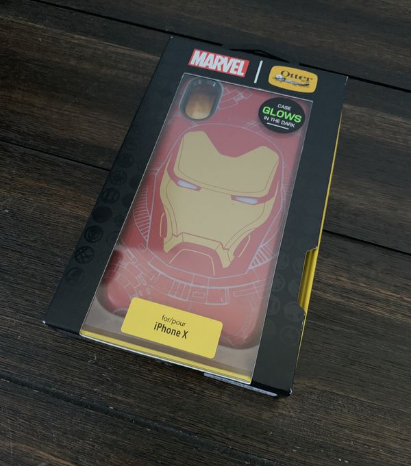 new concept 365fe cad30 Iron Man Otterbox case for iPhone X / iPhone Xs for Sale in Columbus, OH -  OfferUp