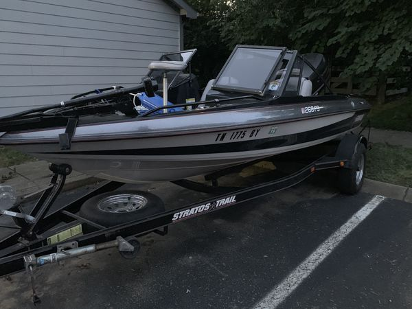 96 bass and ski boat