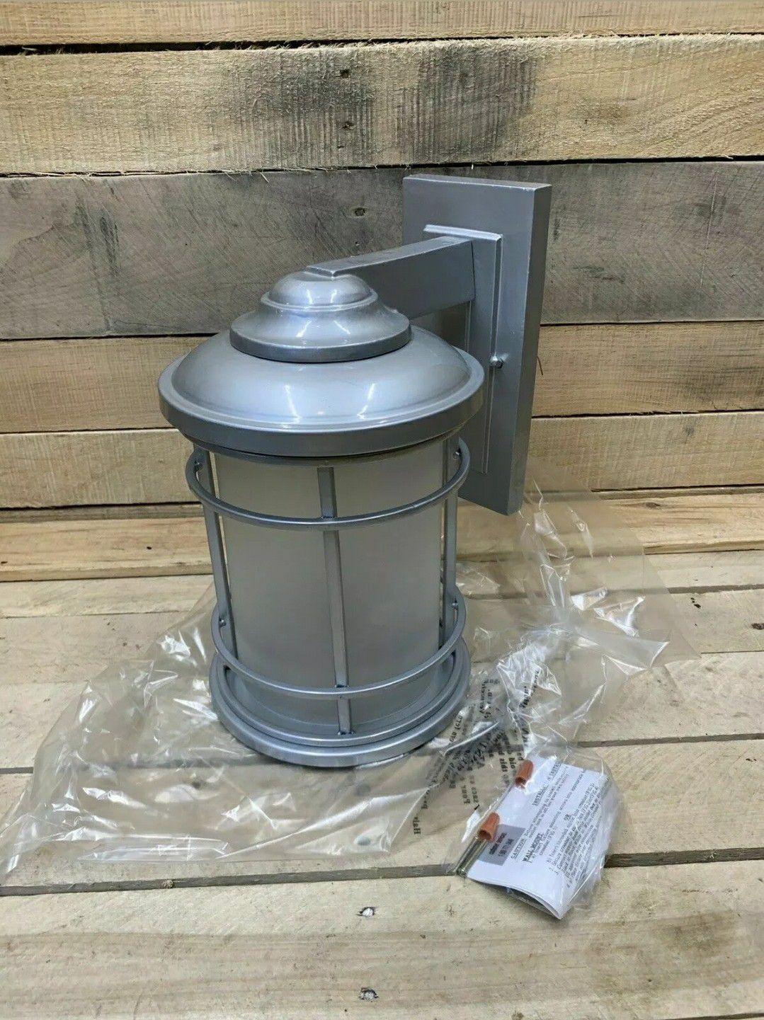 Epiphany ELP 1-Light Wall Sconce Lantern 104957-BN Brushed Nickel Eg1