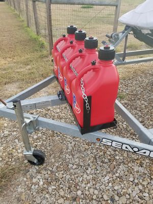 Boat trailer fuel storage rack for Sale in Austin, TX