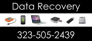 Data Recovery for All Macs and PC'S $120 for Sale in Los Angeles, CA