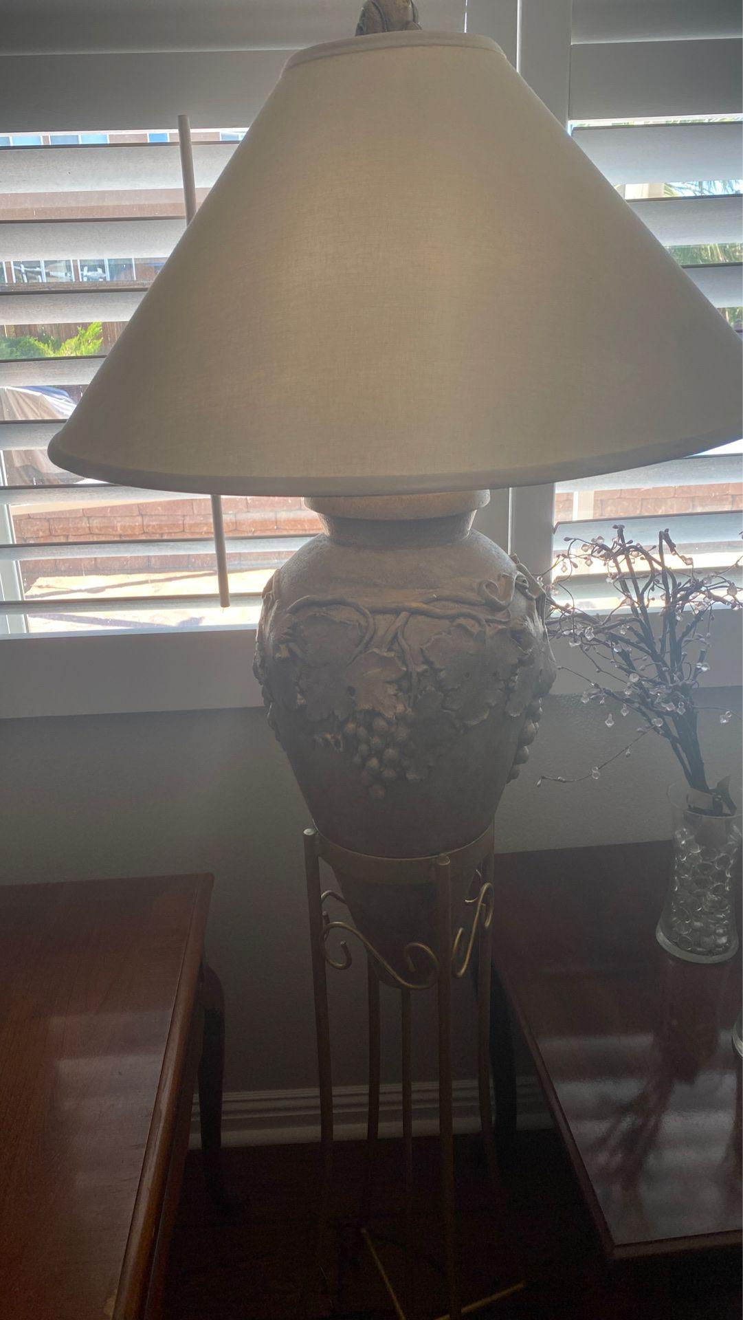 Lámpara para sala de cocina de uvas dorada