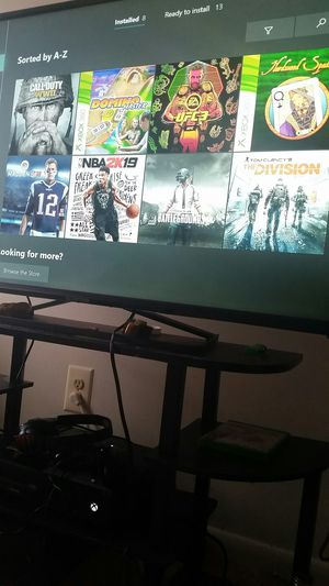 Xbox one with games for Sale in Baltimore, MD