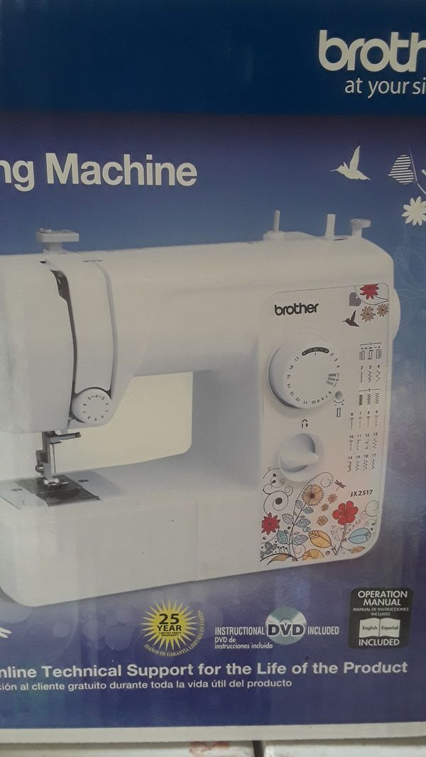 Brother Jx40 Sewing Machine General In Modesto CA OfferUp Custom How To Setup A Brother Jx2517 Sewing Machine