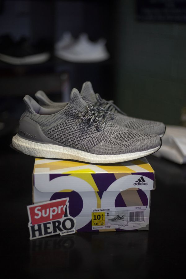 adidas Ultra Boost 1.0 Wool Grey Custom Size 10.5 for Sale in Tempe ... f1c07d0ac