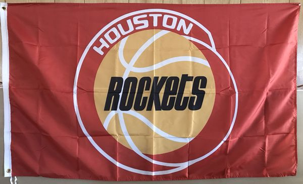 7ff6a91be4d NBA 3 x5  HOUSTON ROCKETS FLAG (vintage) for Sale in Houston