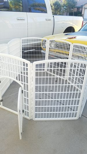 Large dog cage collapsible dog run for Sale in Murrieta, CA