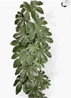 "52"" Fatsia Japonica Leaf Vine- set of 3 Thumbnail"