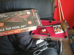 Two mini Pool Tables, used for sale  Tulsa, OK