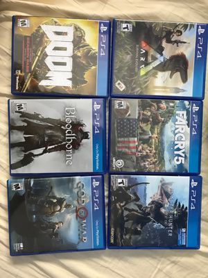 Ps4 games for Sale in Annandale, VA
