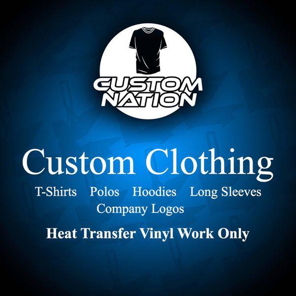 Custom Clothing - Custom Nation for Sale in Hialeah, FL