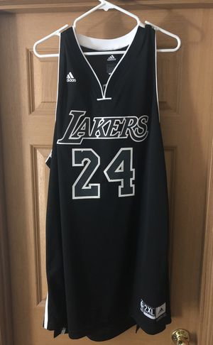 fb63907160ab Kobe Bryant Black Lakers Jersey for Sale in South Hill