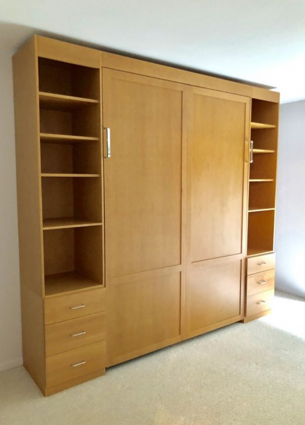 Queen Size Murphy Bed for Sale in Chicago, IL   OfferUp