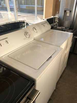 Kenmore washer and dryer set refurbished. Delivery installation warranty for Sale in Alexandria, VA