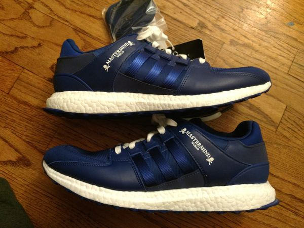 buy popular 3c048 c5641 Adidas Mastermind Japan EQT blue shoes size 12 for Sale in Torrance, CA -  OfferUp