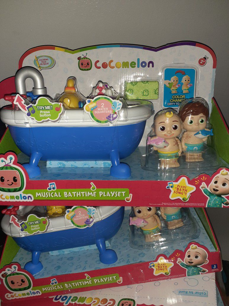 NEW COCOMELON BATHTIME MUSICAL COLOR CHANGING $35