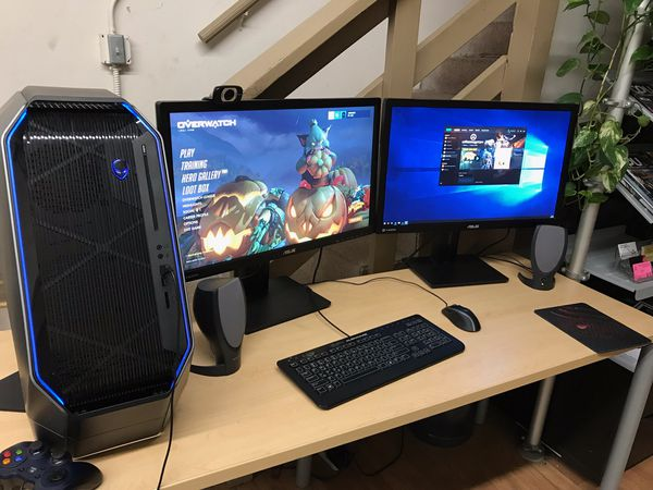 "Alienware Gaming Computer full setup w/ 2 x 27"" Monitors!!! for Sale in  Oakland, CA - OfferUp"