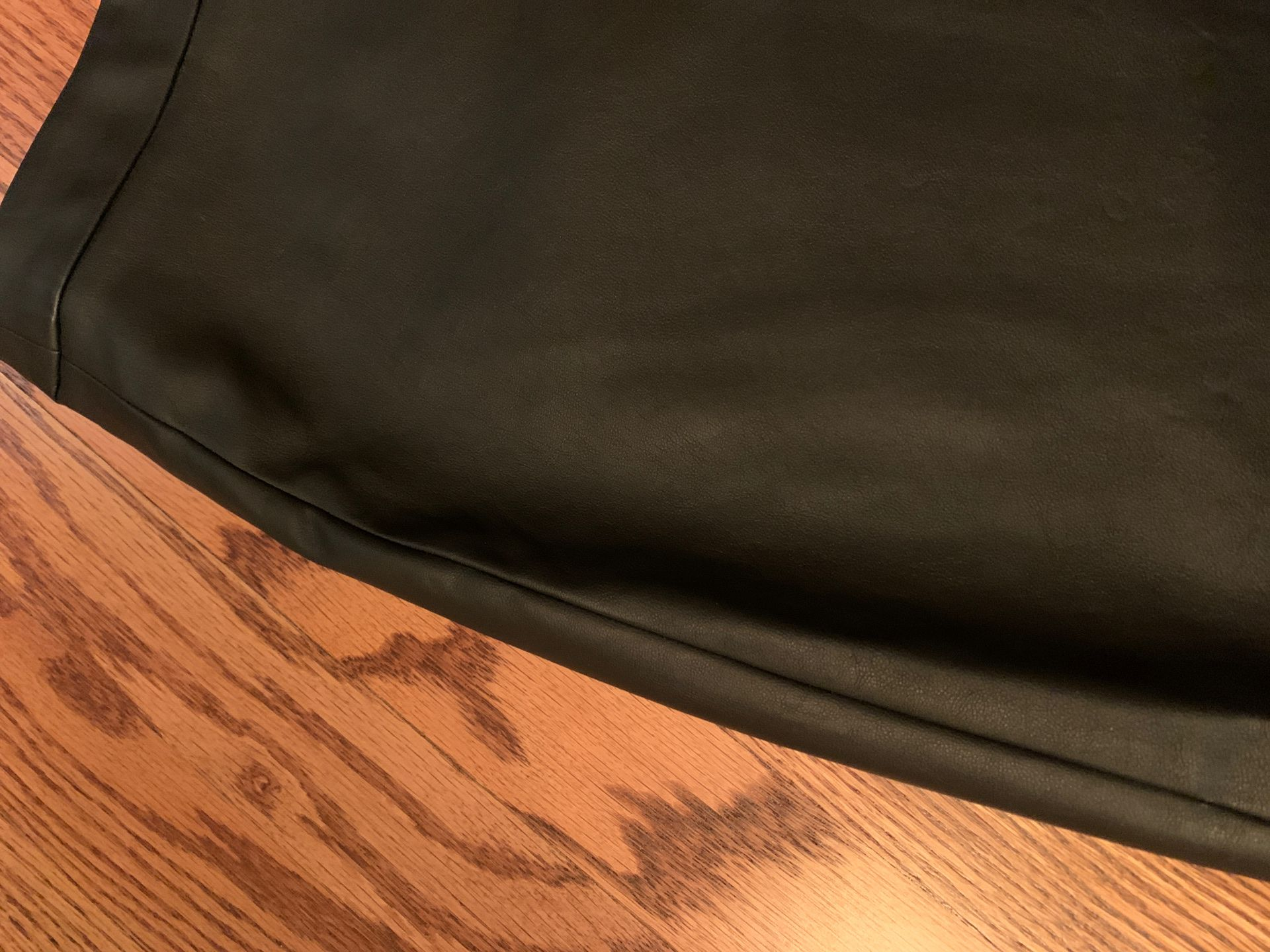 New w Tags BBDakota /Steve Madden Faux Leather Skirt w Zipper (similar to last Picture). Size 10