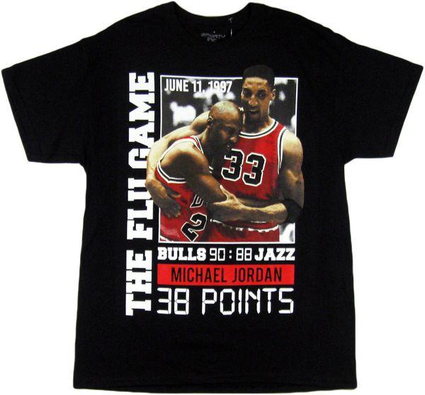 1cb4a633d151cd 3forty inc. Mens Michael jordan Chicago bulls flu game shirt for ...
