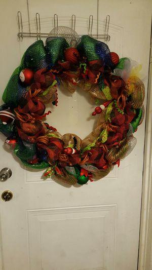 Handmade Christmas Deco Mesh for Sale in Orlando, FL