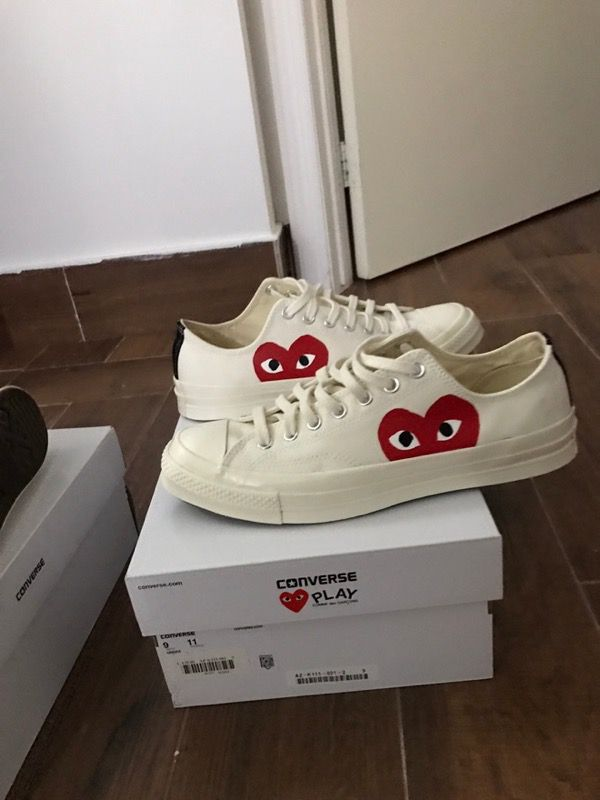 6520db680206 Comme des Garcons CDG Converse Size 11 (Beige) for Sale in Tucson ...