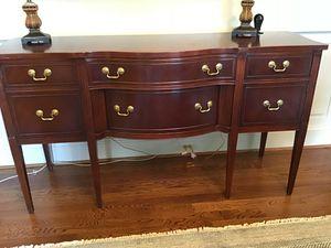 Mahogany dining room Buffet table for Sale in Manakin-Sabot, VA