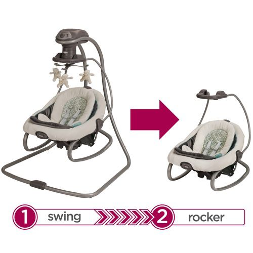 Graco Duet And Soothe Swing And Rocker