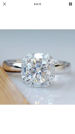 1ct lane diamond wedding engagement casual Proposal love ring women's jewelry accessory Christmas gift for Sale in Colesville, MD