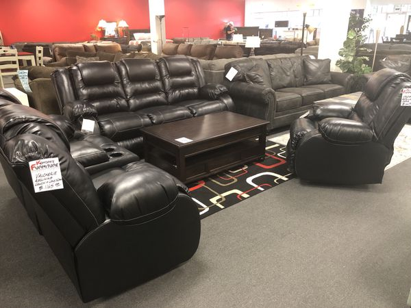 Phenomenal New Ashley Furniture Reclining Sofa Set For Sale In Clermont Fl Offerup Download Free Architecture Designs Scobabritishbridgeorg