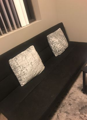 sofa bed with cushions for Sale in Cleveland, OH