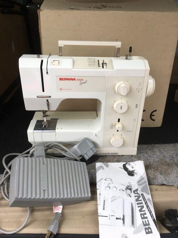 BERNINA 40 With Manual And Box For Sale In Honolulu HI OfferUp Impressive Bernina 1000 Special Sewing Machine Manual