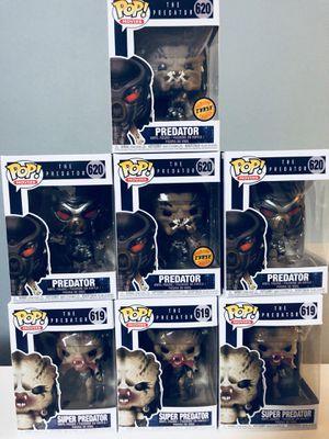 The predator Funko pops for Sale in Ocoee, FL