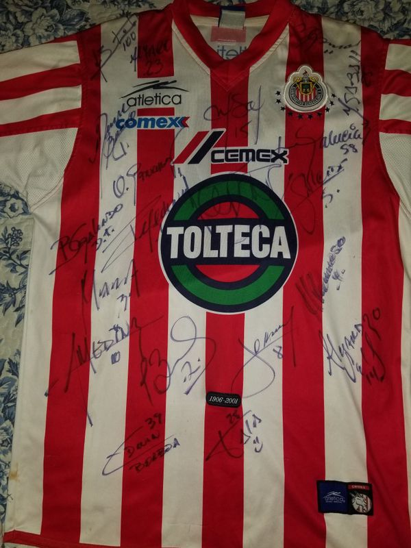 detailed look c9662 9b48f 2001 Chivas Atletica Jersey Autographed for Sale in South Gate, CA - OfferUp
